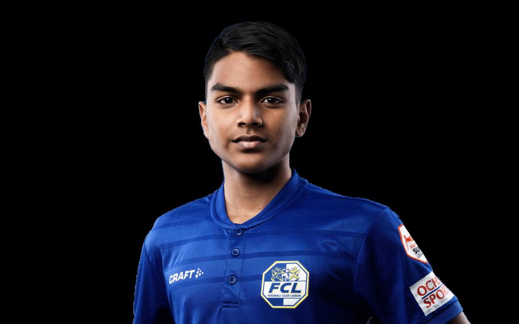 Ashvin Balaruban FC Luzern Footuro Fussballspieler