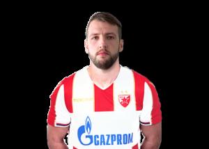 Nemanja Milunovic Spieler FK Roter Stern Belgrad von Footuro