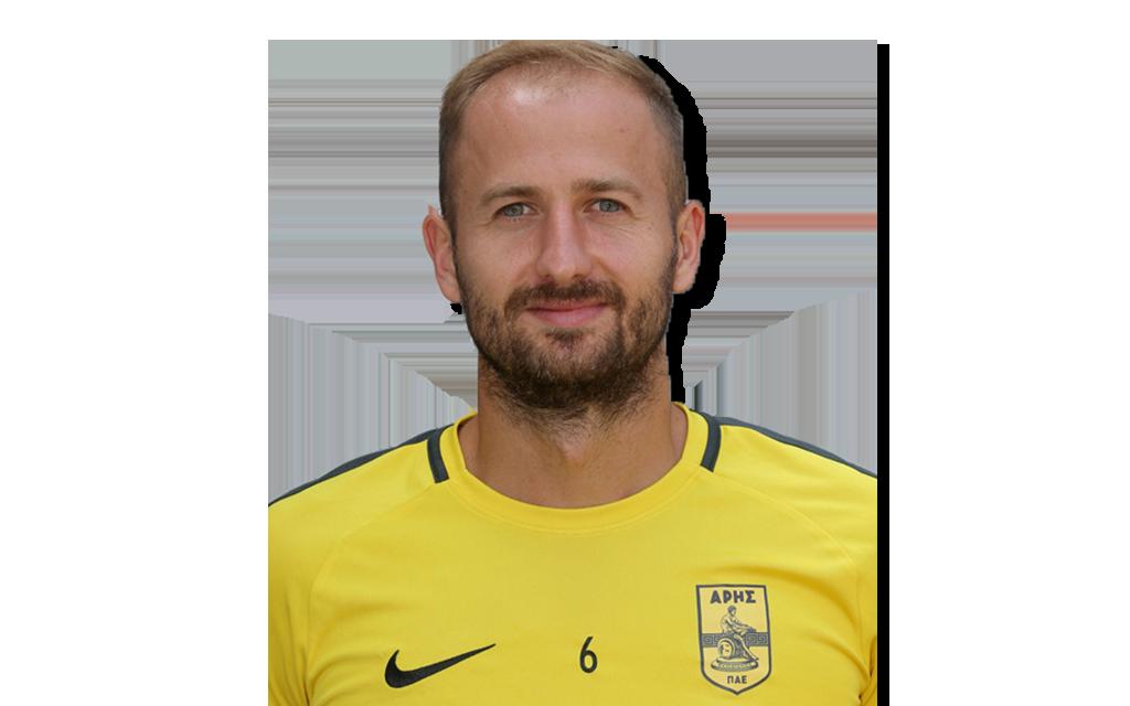 Migjen Basha Footuro AG Football player Aris Thessaloniki