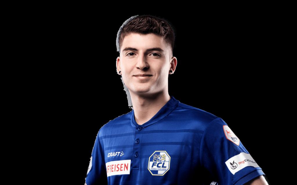 Lorik Emini Fussballer FC Luzern Footuro