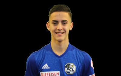 Enrik Oroshi Footuro Spieler FC Luzern