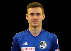 Silvan Sidler Footuro Spieler beim FC Luzern Super League