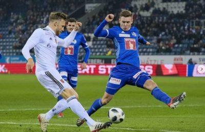 Silvan Sidler FC Luzern gegen FC Basel Footuro Spieler