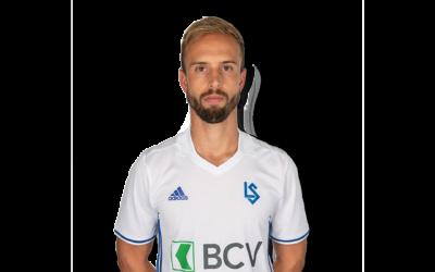 Nicolas Getaz Spieler von FC Lausanne Sport von Footuro