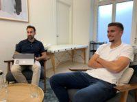 Footuro und Partner Betteryou mit Fussballspieler Darian Males