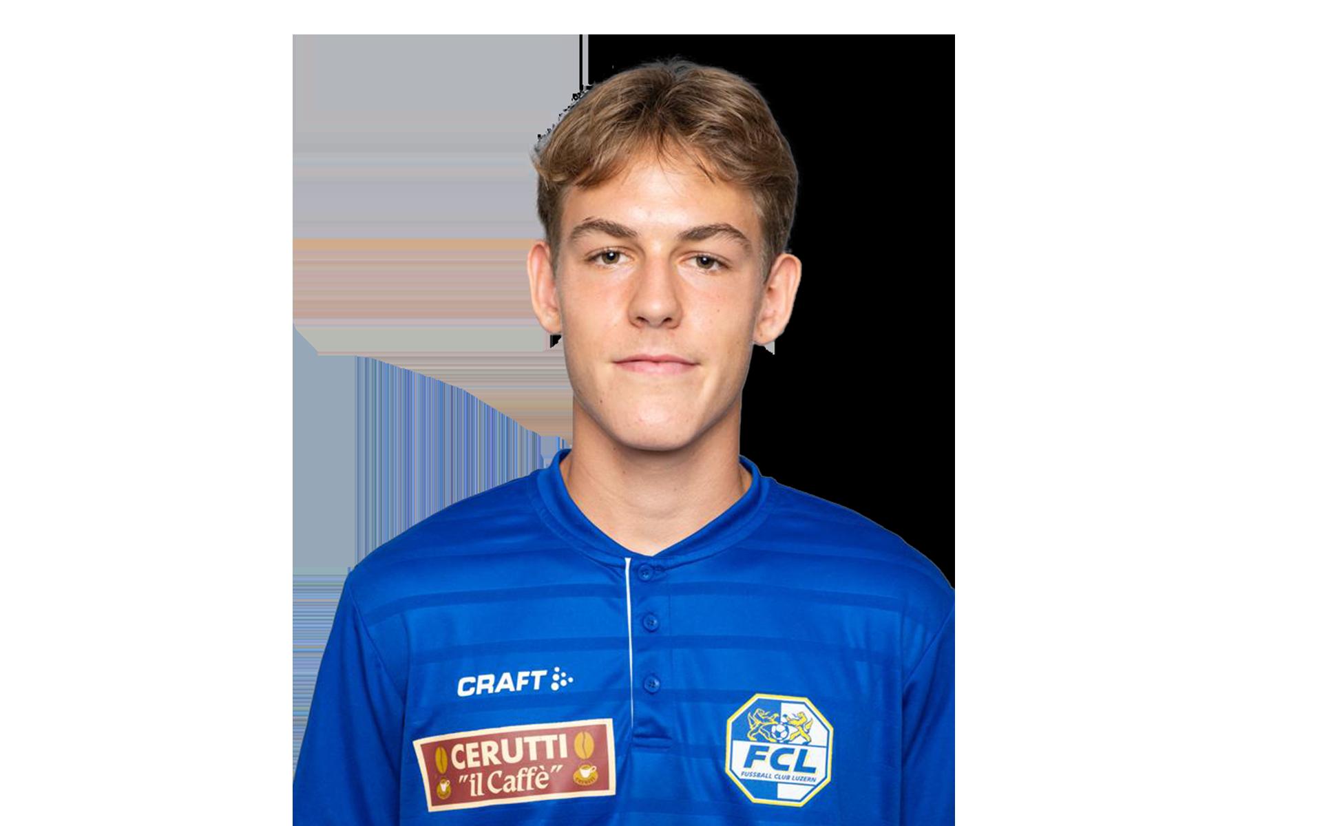 Nando Zimmermann Fussballspieler FC Luzern Footuro